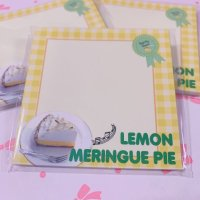 【メモ】LEMON MERINGUE PIE AWARD