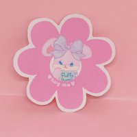 フラバニステッカー flower (bunny)