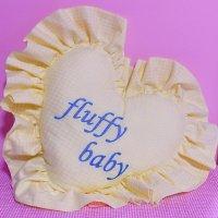 fluffy baby クッション
