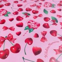 デザインペーパー[dress cherry No.01 ]